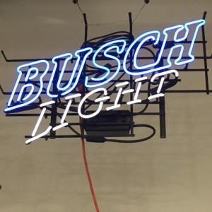Busch Light neon sign - A Plus Signs
