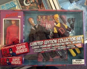 Comic Relief - Daredevil Collector Set