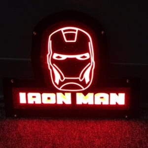 Comic Relief - Iron Man LED Light