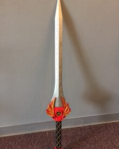 Comic Relief - Power Ranger Replica Sword