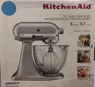 KitchenAid Tilt Head Stand Mixer from Dillards | Radio Auction