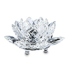 Hoppe Jewelers - Swarovski Large Crystal Water Lily